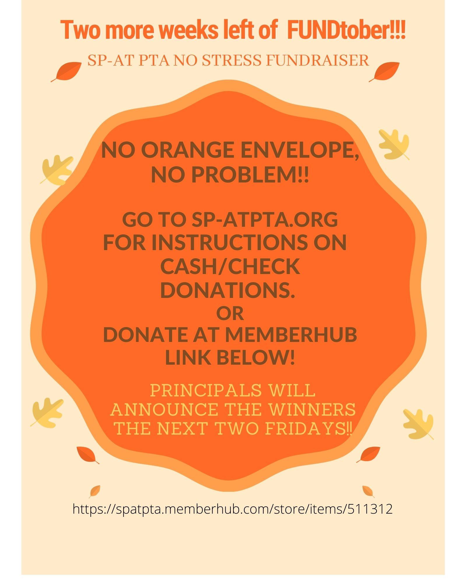 No Orange Envelope? No Problem!